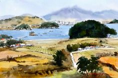 통영에서  watercolor by insung Jung