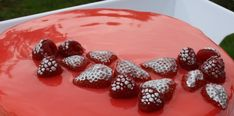 Sjajna glazura za tortu (staklena, zrcalna) - Glossy glaze (mirror) — Coolinarika