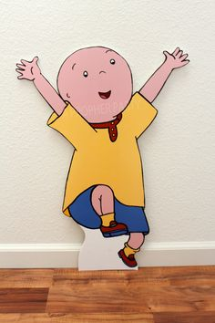 Are you planning a Caillou Party? Well, be sure to invite Caillou himself to your party and make it an extra special day!! Easy to place a stake