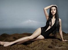 Bingbing Fan in Black Swimsuit is listed (or ranked) 4 on the list The Hottest Bingbing Fan Photos