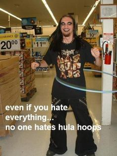 Magic Photo: hula hoops
