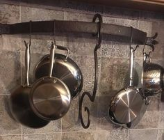 Stone Farm Forge in Anniston specializes in welding and blacksmithing service and repair Kitchen Pantry, Kitchen Hacks, Welding Services, Stone Farms, Blacksmith Shop, Pot Rack, Iron Work, Blacksmithing, Custom Items