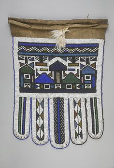 Ndebele apron in British museum British Museum, African Art, Tree Branches, South Africa, Art Pieces, Objects, Beadwork, Culture, Beads