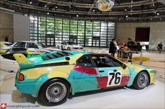 BMW M1 LM Art Collection