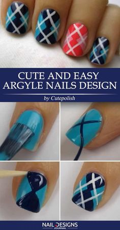 May 2020 - Nail art and nail design. Manicure & Pedicure Tips & Ideas. See more ideas about Nail art designs, Nail art and Manicure. Simple Nail Designs, Beautiful Nail Designs, Nail Art Designs, Nails Design, Easy Designs, Diy Nail Designs Step By Step, Easy Nail Art, Cool Nail Art, How To Do Nails