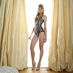 Fleur of England SS13 Wild at Heart body suit