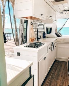 Check out some seriously beautiful interior camper van conversions that will make you give this alternative living a try! Van Conversion Interior, Camper Van Conversion Diy, Campervan Rental, Campervan Interior, Bus Life, Camper Life, Vw Camper, Dodge, Motorhome