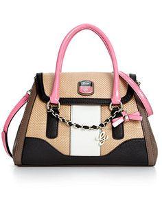 GUESS Handbag, Madurai Flap Satchel - Satchels - Handbags & Accessories - Macy's