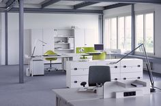ABC Vitra Office Workstations, Architecture Office, Office Desk, Interior, Offices, Furniture, Design, Studio, Home Decor
