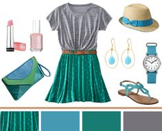 Who doesn't love a good dose of Target retail therapy? So satisfying and guilt-free. I stopped in yesterday and couldn't get enough of the bright, colorful items they have in store for summer! An outfit like this goes a long way--the skirt could be dressed up for specialoccasionsand the