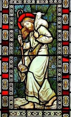 stained glass window at All Saints Church #StainedGlassChurch
