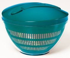 KitchenAid Gourmet Salad Spinner Deep Teal   eBay
