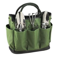 12 pcs Garden Tools Set with Arthritis Friendly Foldable Garden Stool Seat /& Portable Tool Tote//Bag Apron Kneeler Pad Gardening Gloves /& Hand Tools Set Accessories Kit for Gardeners