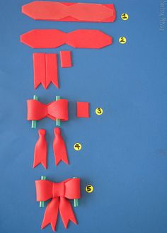 How to....bows by Swissy Missy, via Flickr
