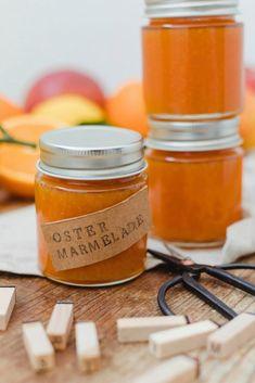 Karotten-Apfel-Marmelade - Rezept - Sweets & Lifestyle® - From Parts Unknown Honey Recipes, Jam Recipes, Vegan Recipes, Healthy Eating Tips, Healthy Nutrition, Chutneys, Honey Salmon, Apple Jam, Honey Garlic Chicken