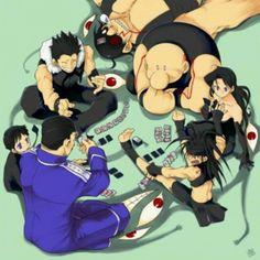 All the Homunculi from Fullmetal Alchemist Brotherhood :)
