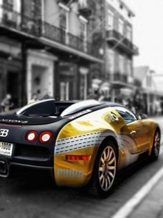 Bugatti...ugly but who cars when it drives that fast.