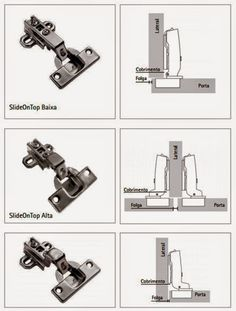 Mug Hinges (Part I): Types of shims, applications and adjustment in the … – Woodworks Compact Furniture, Diy Furniture Cheap, Multifunctional Furniture, Cupboard Hinges, Hinges For Cabinets, Kitchen Cabinet Doors, Sketchup Woodworking, Woodworking Joints, Woodworking Furniture