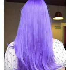 Lilac Hair goal ❤ By 🌙 Mint Hair, Neon Hair, Lilac Hair, Yellow Hair, Blue Hair, Two Toned Hair, Vivid Hair Color, Pulp Riot Hair, Hair Brained