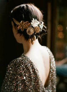 penteado com adornos beautylist .