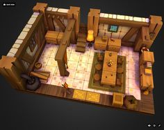 DOFUS Game 3D Fan Art by cgart. vn on ArtStation.