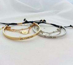 P.S. I Love You Bracelet
