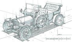 Фэн Чжу Дизайн: FZD студенческих работ - срок 01 - Поезда, Автомобили и кораблей