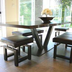Table érable live edge
