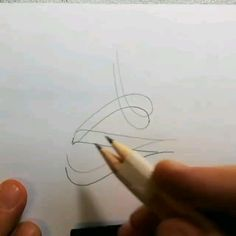 Double pen This is an interesting way of doing calligraphy, especially for a beginner (Via K Kara_) Arabic Calligraphy Design, Islamic Calligraphy, Calligraphy Supplies, Calligraphy For Beginners, Islamic Art Pattern, Islamic Paintings, Islamic Wall Art, Arabic Art, Pencil Art Drawings