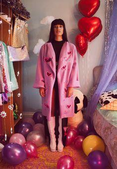 New Fashion, High Fashion, Womens Fashion, Power Dressing, Parka, Babe, Portraits, Red And Pink, Passion For Fashion