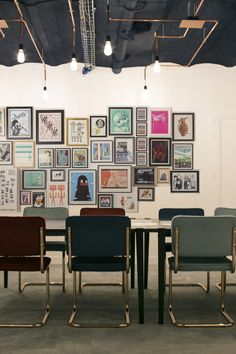 Save – Léo Guez – Architecte d'interieur / Designer. Office - co-working - interior design - start up - salle de réunion - Paris -