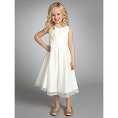 John Lewis Girl Empire Line Lace Dress, Ivory. Can change the colour of waist band to fit colour scheme. I love this for the girls! Ivory Bridesmaid Dresses, Bridesmaid Outfit, Bridesmaid Flowers, Wedding Dresses, Wedding Wear, Wedding Bride, Dream Wedding, Royal Purple Wedding, Little Girl Outfits