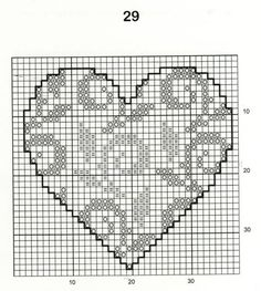 30 Free Heart Cross Stitch Patterns I always imagined choosing one designing and. - 30 Free Heart Cross Stitch Patterns I always imagined choosing one designing and making it in a who - Mini Cross Stitch, Cross Stitch Heart, Simple Cross Stitch, Cross Stitch Alphabet, Cross Stitch Flowers, Cross Heart, Mini Heart, Cross Stich Patterns Free, Wedding Cross Stitch Patterns