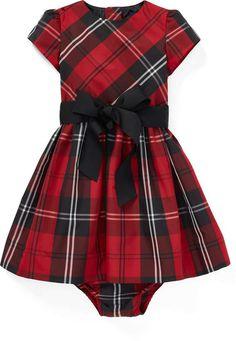 c3deda9394cf Ralph Lauren Tartan Plaid Dress   Bloomer Dresses Kids Girl
