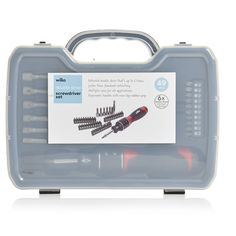 Shop for Wilko Double Drive Screwdriver Set 49 Piece at wilko - where we offer a range of home and leisure goods at great prices. Screwdriver Set, All Kids, Moving House, Diy Projects, Handle