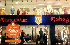 Namaskar Lucknow, we're already 25! Presenting Celebration Wear for women from the house of Manyavar.