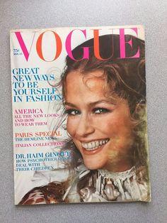 vintage Vogue Magazine March 15 1970 Irving Penn fashion mag
