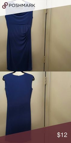 Cato Blue dress Blue form fitting dress. Never worn! Cato Dresses