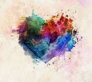 Image result for heart watercolour tattoo