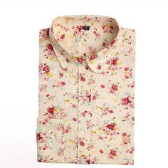 Casual Cherry Blouses (Color: Lightyelfl) | Save upto 40% with us |  Visit our website now  uniquefashionusa.com