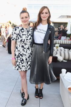 Gillian Jacobs and Ahna O'Reilly