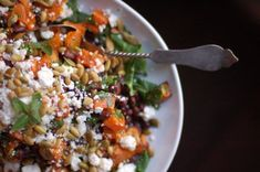 sweet potato and black bean winter salad