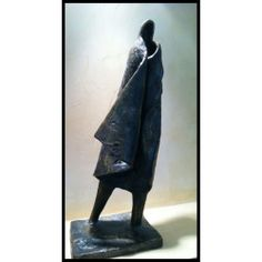 Alfred Tibor Sculpture, On the Go, Bronze. Available at Argo & Lehne Jewelers.
