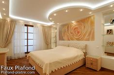 Faux plafond design is one of images from faux plafond chambre a coucher. Find more faux plafond chambre a coucher images like this one in this gallery Latest False Ceiling Designs, Ceiling Design Living Room, Bedroom False Ceiling Design, False Ceiling Living Room, Bedroom Ceiling, Living Room Designs, Living Rooms, Faux Plafond Design, Kids Interior