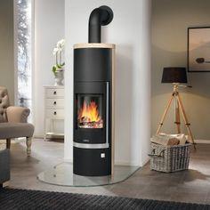 Justus Kaminofen Faro Aqua: Der wasserführende Kaminofen Faro Aqua kann mit einer Leistung von 8,5 kW nicht nur Räume mit einem Volumen von bis zu 200 m³ beheizen, sondern zusätzlich auch noch Wärme in die Zentralheizung Ihres Hauses einspeisen.