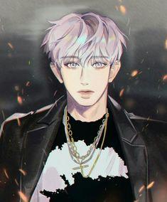Chanyeol Don't mess up my tempo fanart cr. Park Chanyeol Exo, Kpop Exo, Baekhyun, Member Astro, Exo Anime, Astro Wallpaper, Exo Fan Art, Kpop Guys, Cute Anime Boy