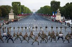 French Polynesian soldiers perform a Haka at the 2011 Bastille Day Parade. An interesting remnant of the French Empire.
