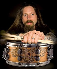 Chris Adler from Lamb Of God, favorite drummer ever! And he's a hottie