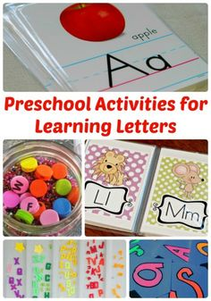 Mix fine motor activities with learning letters! Preschool Activities for Learning Letters http://www.thejennyevolution.com/preschool-activities-learning-letters/