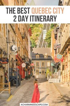 The Best Quebec City 2 Day Itinerary. This is the best Quebec City 2 Day Itinerary - best things to see and do in Quebec City, where to eat and where to take the most beautiful photos. Québec City 2 day Itinerary | What to do in Québec City in 2 days | Quebec City things to do | Québec City Canada | Visit Canada | Quebec travel | Quebec City Photos Spots |